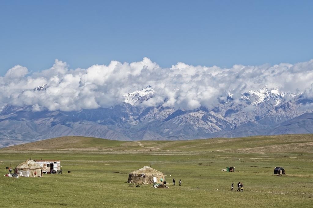 kyrgyzstan, mountains, landscape